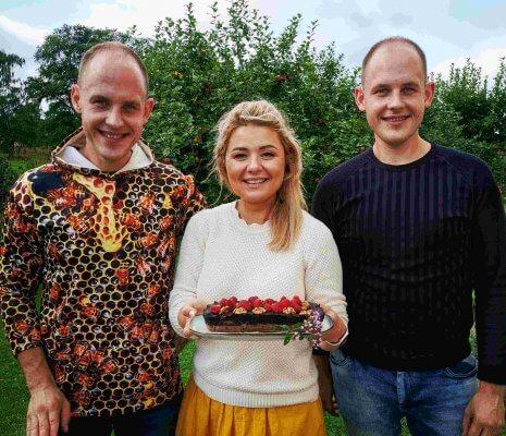 šokoladinis pyragas su Beata
